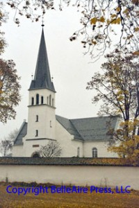 Church at Bjerke, Norway