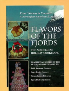 Flavors of the Fjords Cookbook Cover